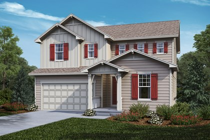 New Homes in Castle Rock, CO - Lafayette - Elevation A