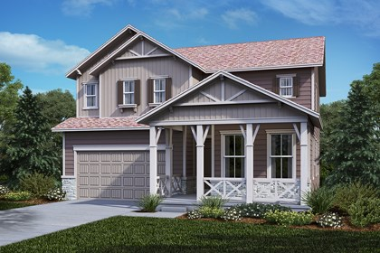 New Homes in Castle Rock, CO - Lafayette - Elevation B
