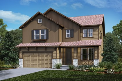 New Homes in Castle Rock, CO - Montrose - Elevation B