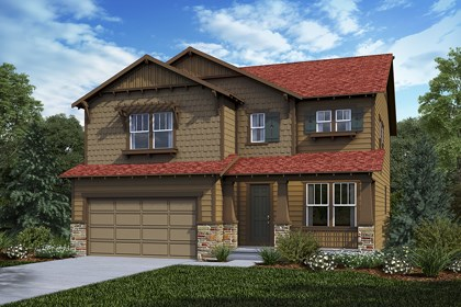 New Homes in Castle Rock, CO - Montrose - Elevation C