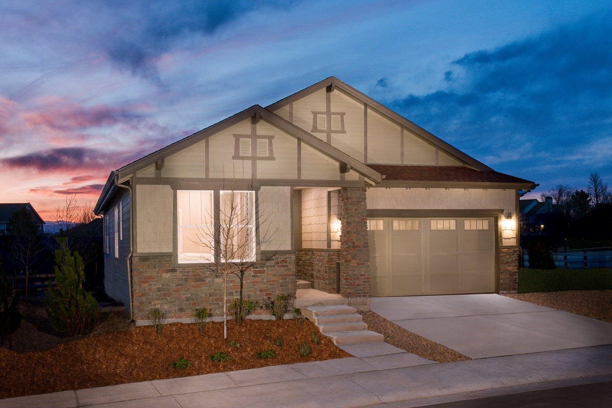 New Homes in Castle Rock, CO - Panorama at The Meadows Hawthorn Model Home
