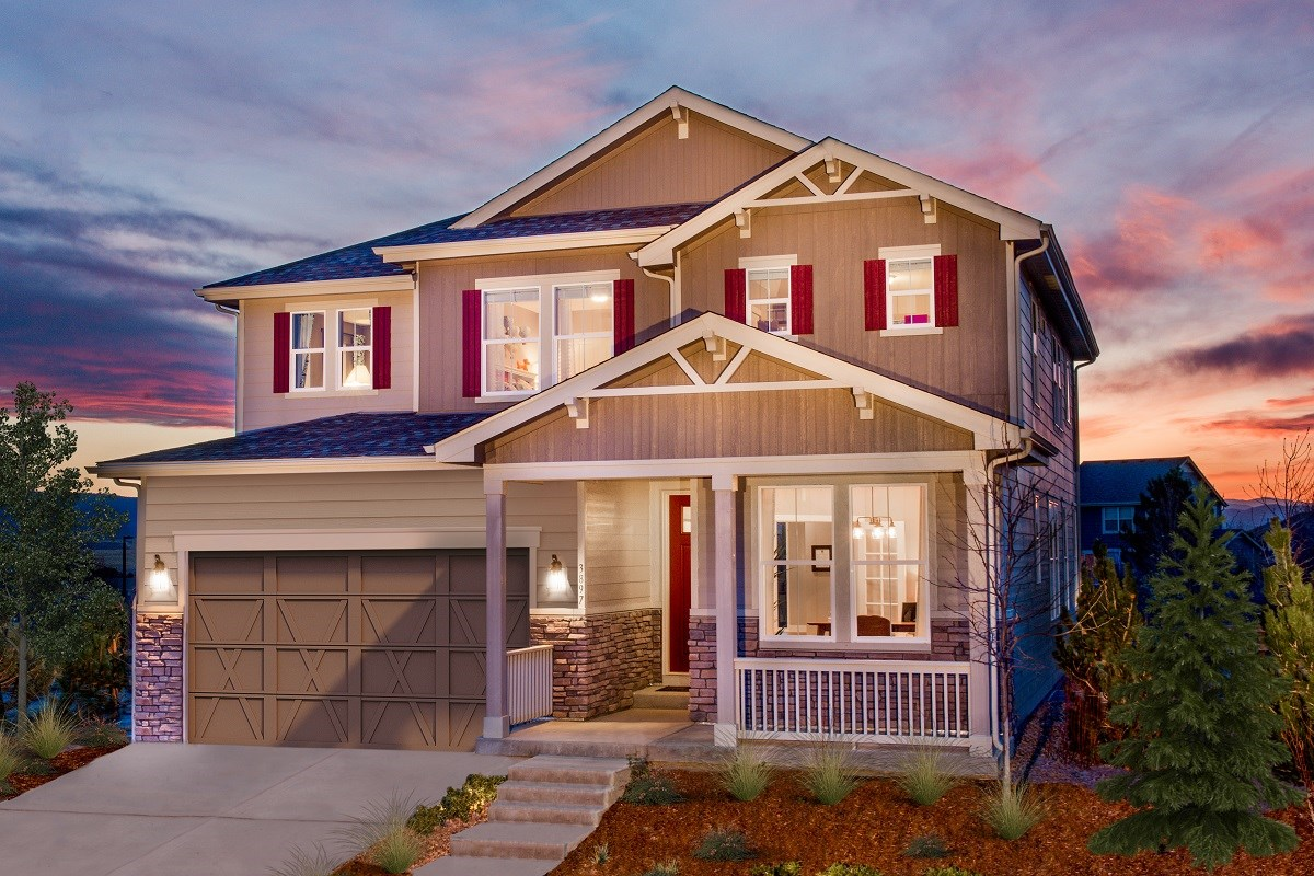 New Homes in Castle Rock, CO - Panorama at The Meadows Loveland Model Home