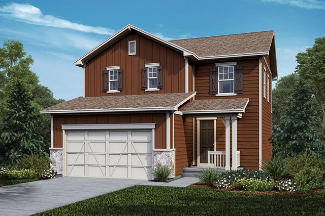 New Homes in Castle Rock, CO - Deckers - Elevation A