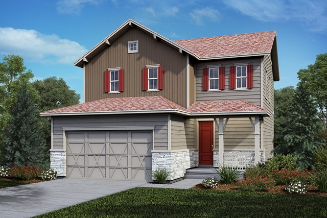New Homes in Castle Rock, CO - Deckers - Elevation B