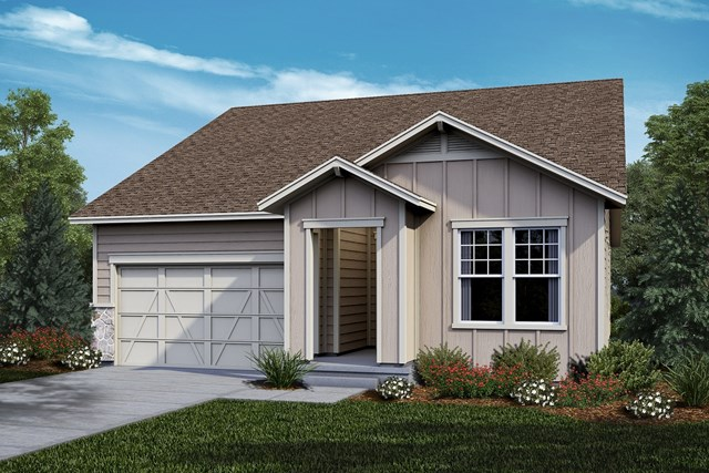 New Homes in Castle Rock, CO - Crestview - Elevation A