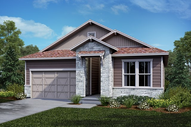 New Homes in Castle Rock, CO - Crestview - Elevation B