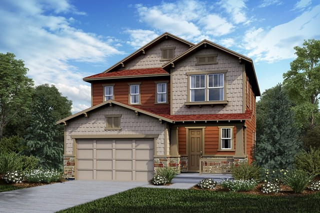 New Homes in Castle Rock, CO - Kittredge - Elevation C