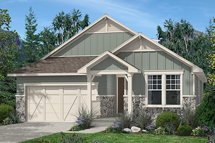 New Homes in Aurora, CO - Elm Elevation A