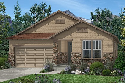 New Homes in Aurora, CO - Elm Elevation C