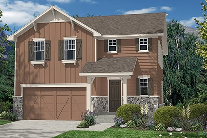 New Homes in Aurora, CO - Hickory Elevation A