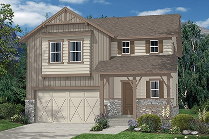 New Homes in Aurora, CO - Hickory Elevation B