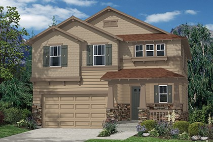 New Homes in Aurora, CO - Hickory Elevation C
