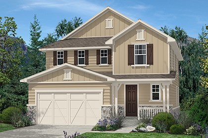 New Homes in Aurora, CO - Kittredge Elevation A
