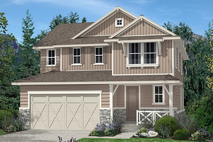 New Homes in Aurora, CO - Kittredge Elevation B