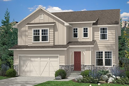 New Homes in Aurora, CO - Montrose Elevation A