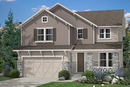 New Homes in Aurora, CO - Montrose Elevation B