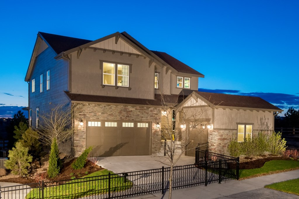 KB model home in Aurora, CO