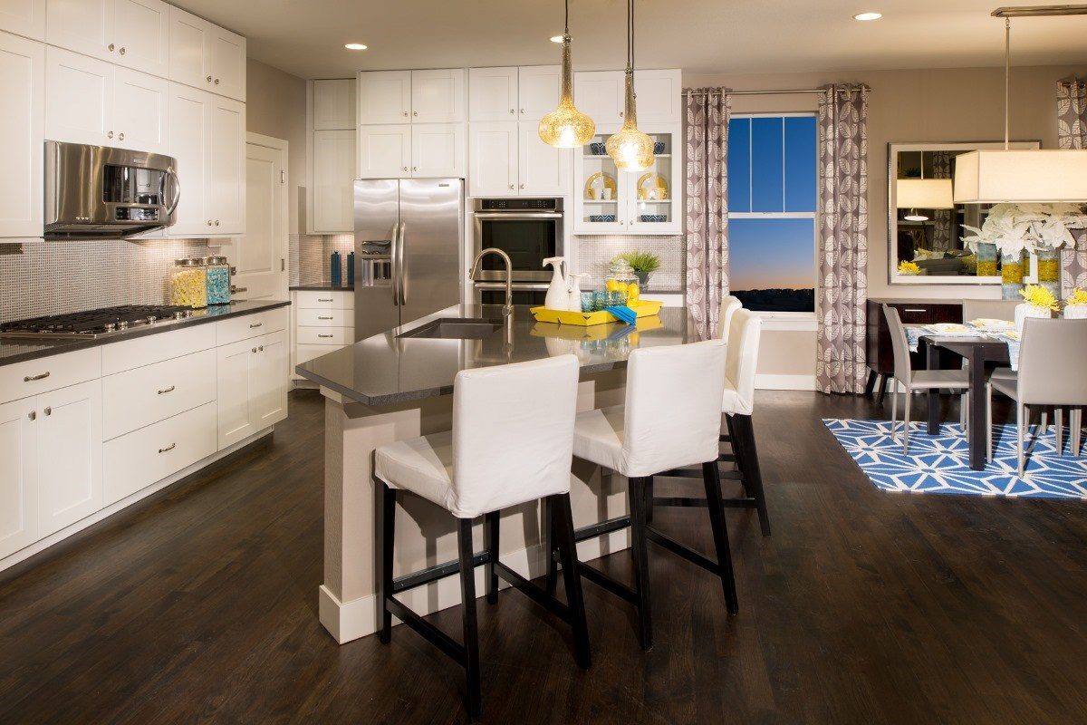 New Homes in Aurora, CO - The Reserve at Ponderosa Ridge Montrose 2841 Kitchen