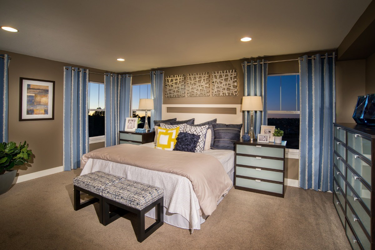 New Homes in Aurora, CO - The Reserve at Ponderosa Ridge Montrose 2841 Master Bedroom