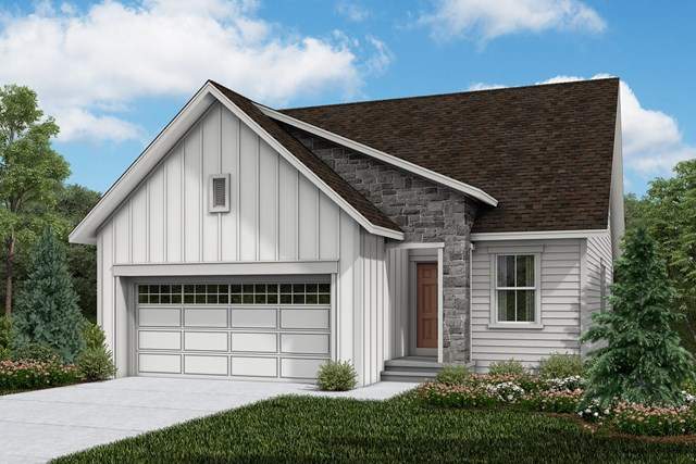 New Homes in Brighton, CO - Aspire - Elevation A