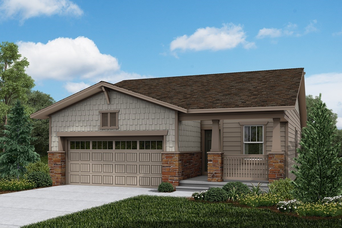 New Homes in Brighton, CO - The Villages at Prairie Center  Aspire - Elevation B