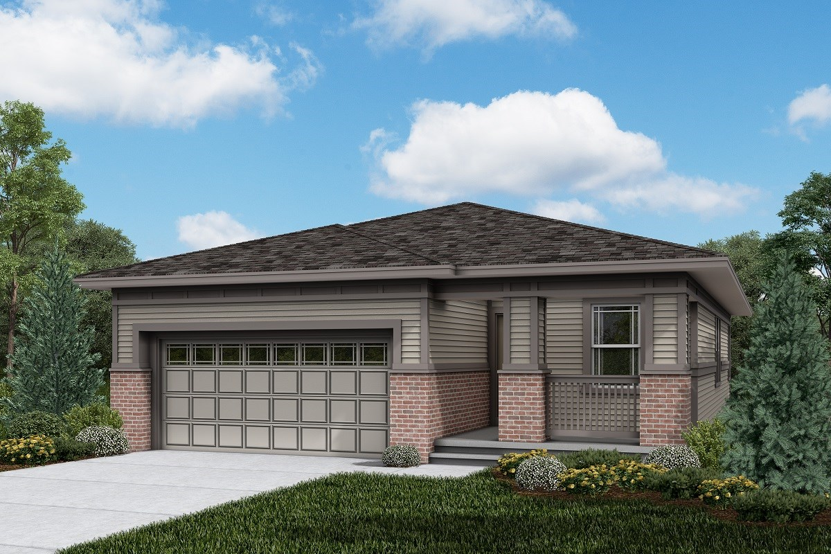 New Homes in Brighton, CO - The Villages at Prairie Center  Aspire - Elevation C