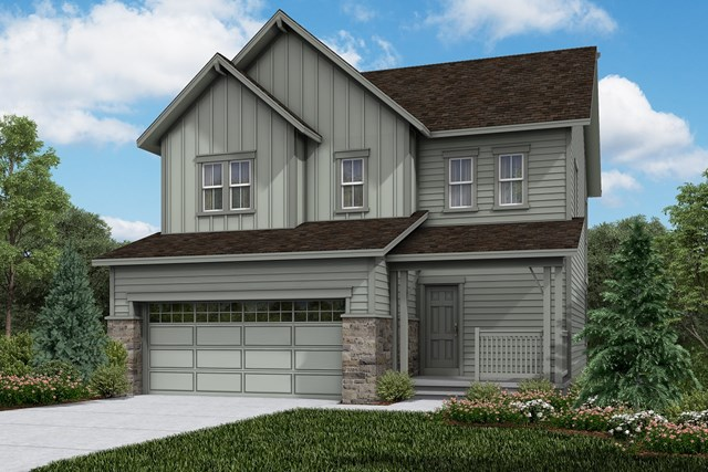 New Homes in Brighton, CO - Vision - Elevation A