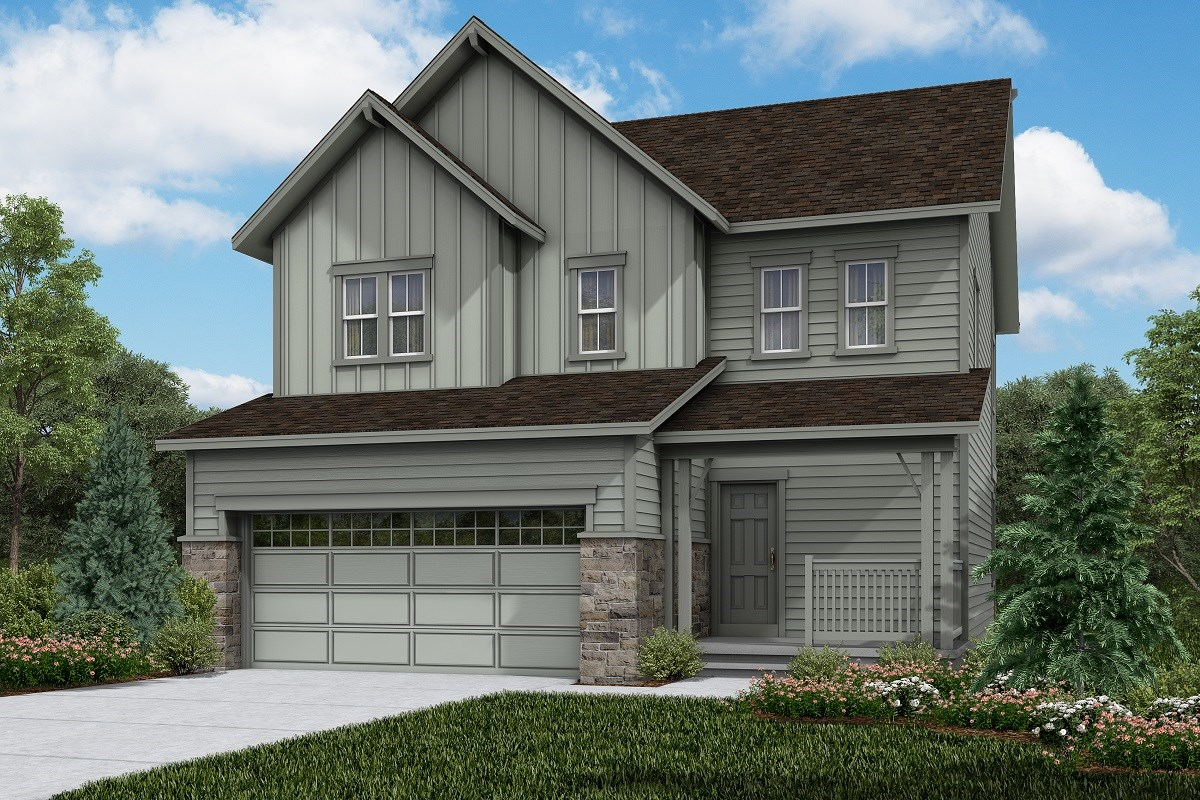 New Homes in Brighton, CO - The Villages at Prairie Center  Vision - Elevation A