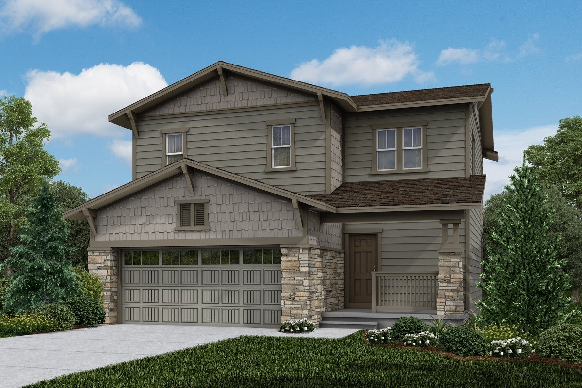 New Homes in Brighton, CO - The Villages at Prairie Center  Vision - Elevation B