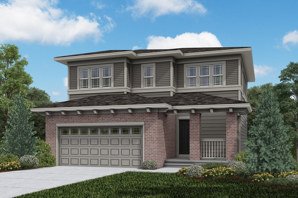 New Homes in Brighton, CO - The Villages at Prairie Center  Vision - Elevation C
