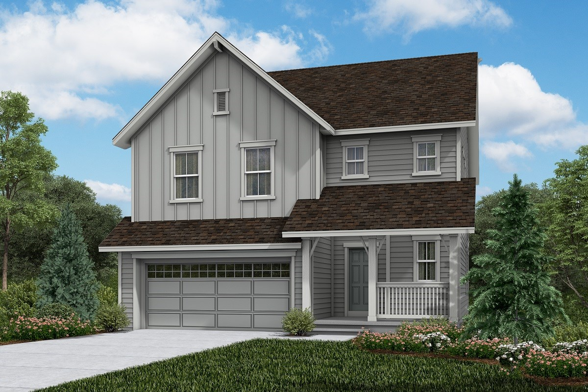 New Homes in Brighton, CO - The Villages at Prairie Center  Glimpse - Elevation A