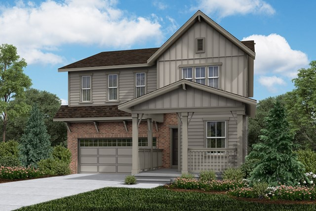 New Homes in Brighton, CO - Memory - Elevation A