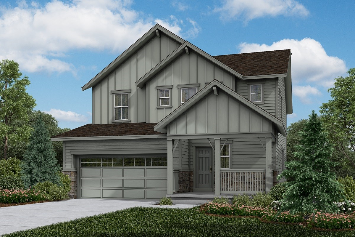 New Homes in Brighton, CO - The Villages at Prairie Center  Serendipity - Elevation A