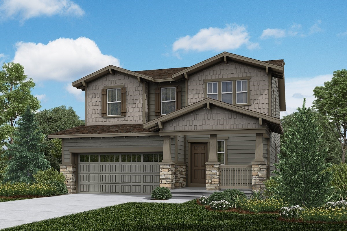 New Homes in Brighton, CO - The Villages at Prairie Center  Serendipity - Elevation B