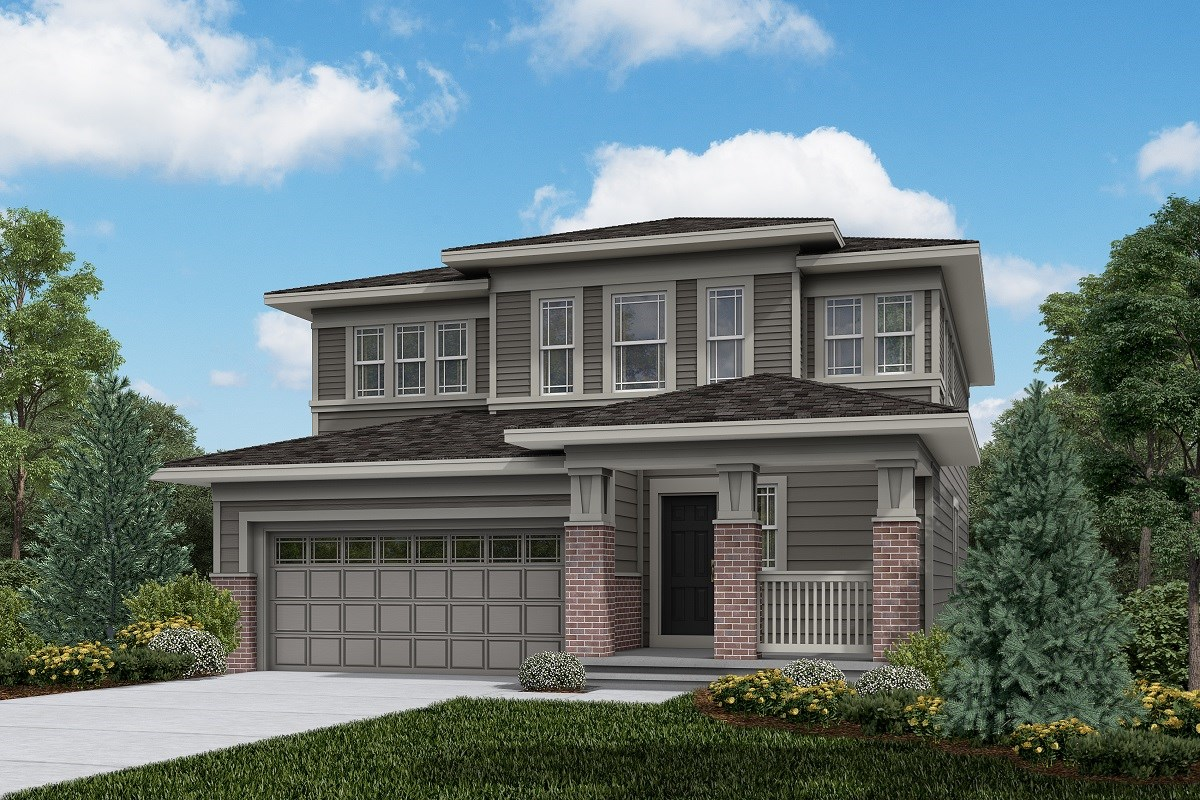 New Homes in Brighton, CO - The Villages at Prairie Center  Serendipity - Elevation C