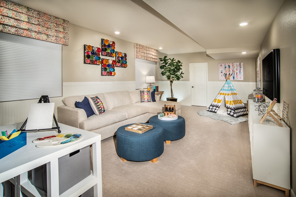 New Homes in Brighton, CO - The Villages at Prairie Center  Aspire - Basement