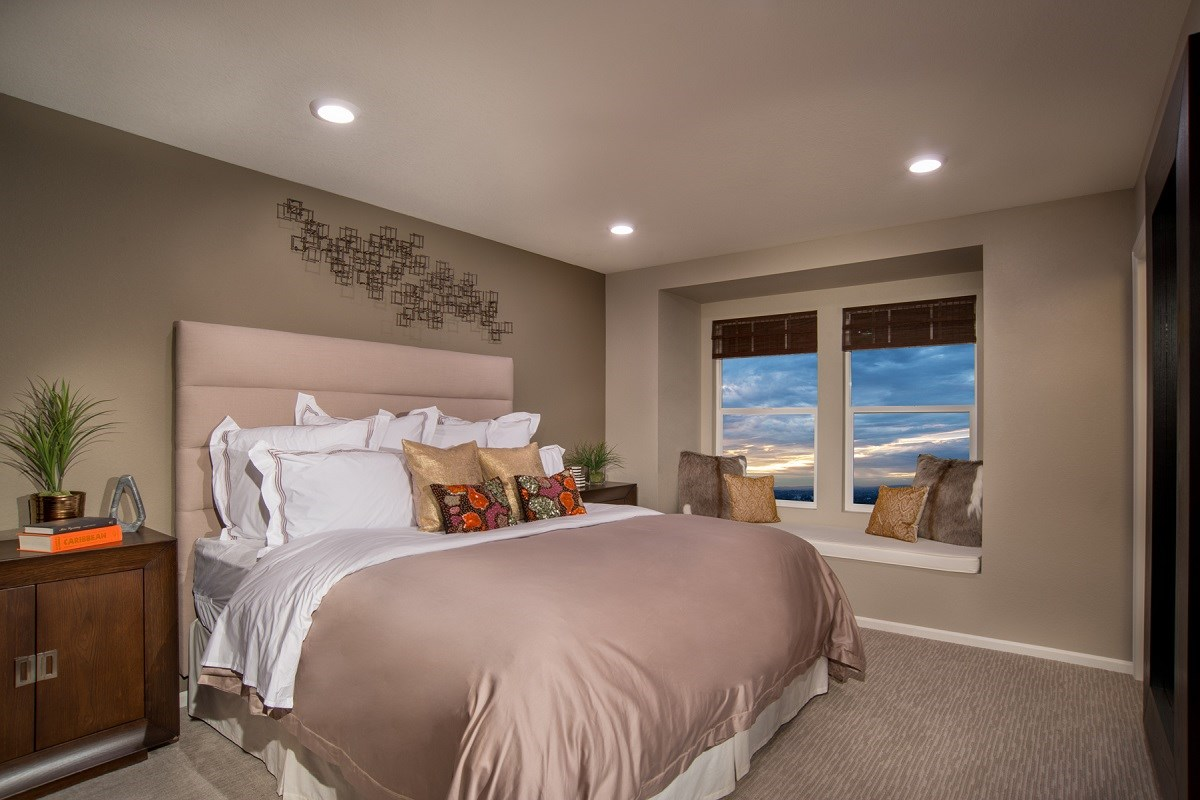 New Homes in Aurora, CO - The Villas at Copperleaf Cypress Master Bedroom