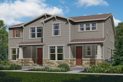 New Homes in Aurora, CO - Cypress + Walnut