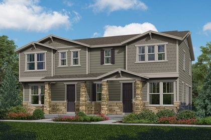 New Homes in Aurora, CO - Willow + Redwood