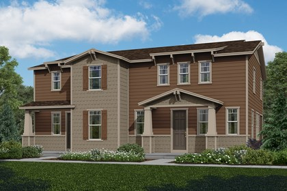 New Homes in Aurora, CO - Walnut + Redwood