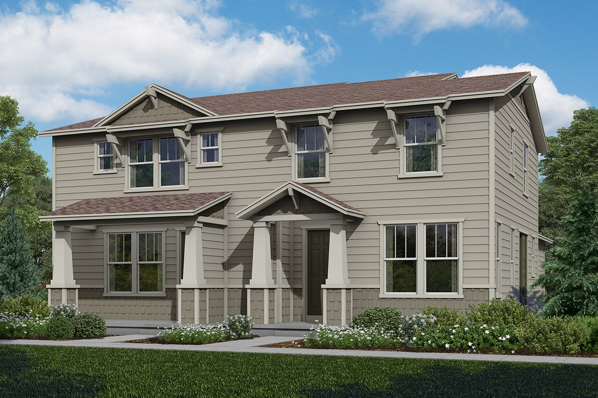 New Homes in Aurora, CO - The Villas at Copperleaf Willow + Cypress
