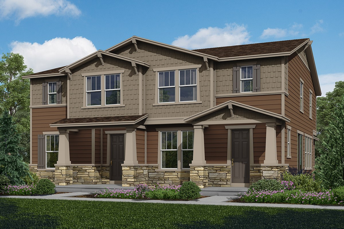 New Homes in Aurora, CO - The Villas at Copperleaf Cypress + Spruce