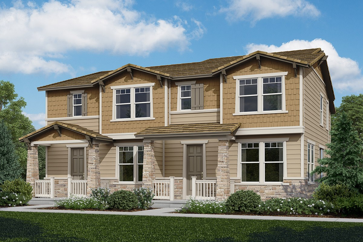 New Homes in Castle Rock, CO - The Villas at The Meadows Spruce + Willow