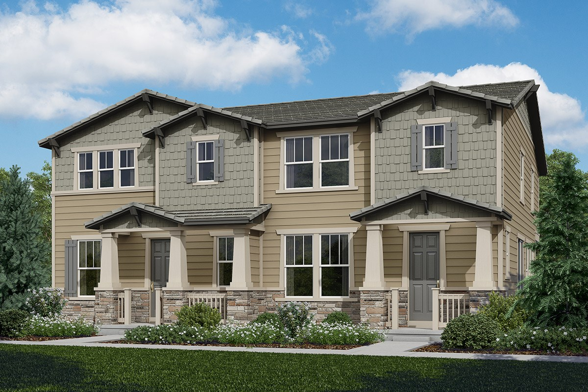 New Homes in Castle Rock, CO - The Villas at The Meadows Redwood + Spruce