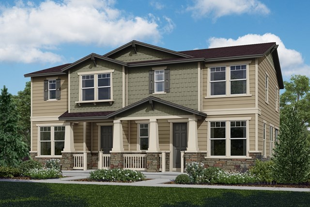 New Homes in Castle Rock, CO - Cypress + Redwood