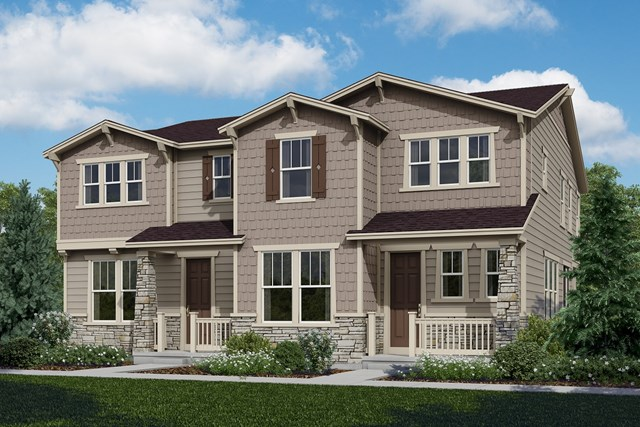 New Homes in Castle Rock, CO - Willow + Walnut