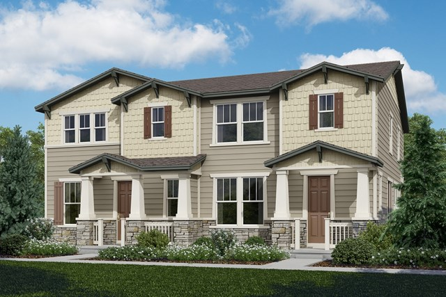 New Homes in Castle Rock, CO - Spruce + Redwood