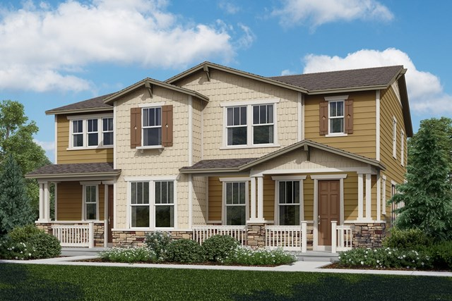 New Homes in Castle Rock, CO - Walnut + Spruce