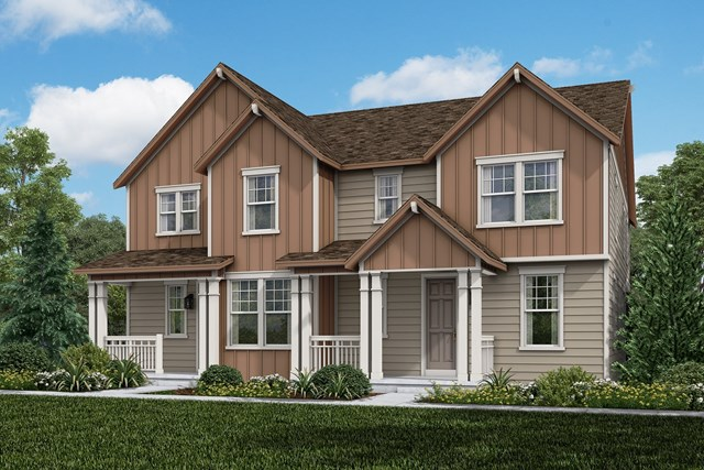 New Homes in Castle Rock, CO - Walnut + Redwood