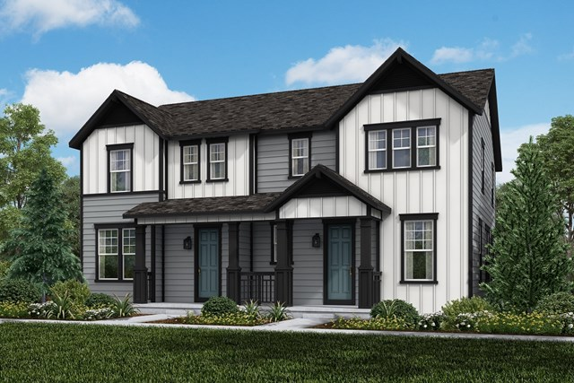 New Homes in Castle Rock, CO - Willow + Redwood